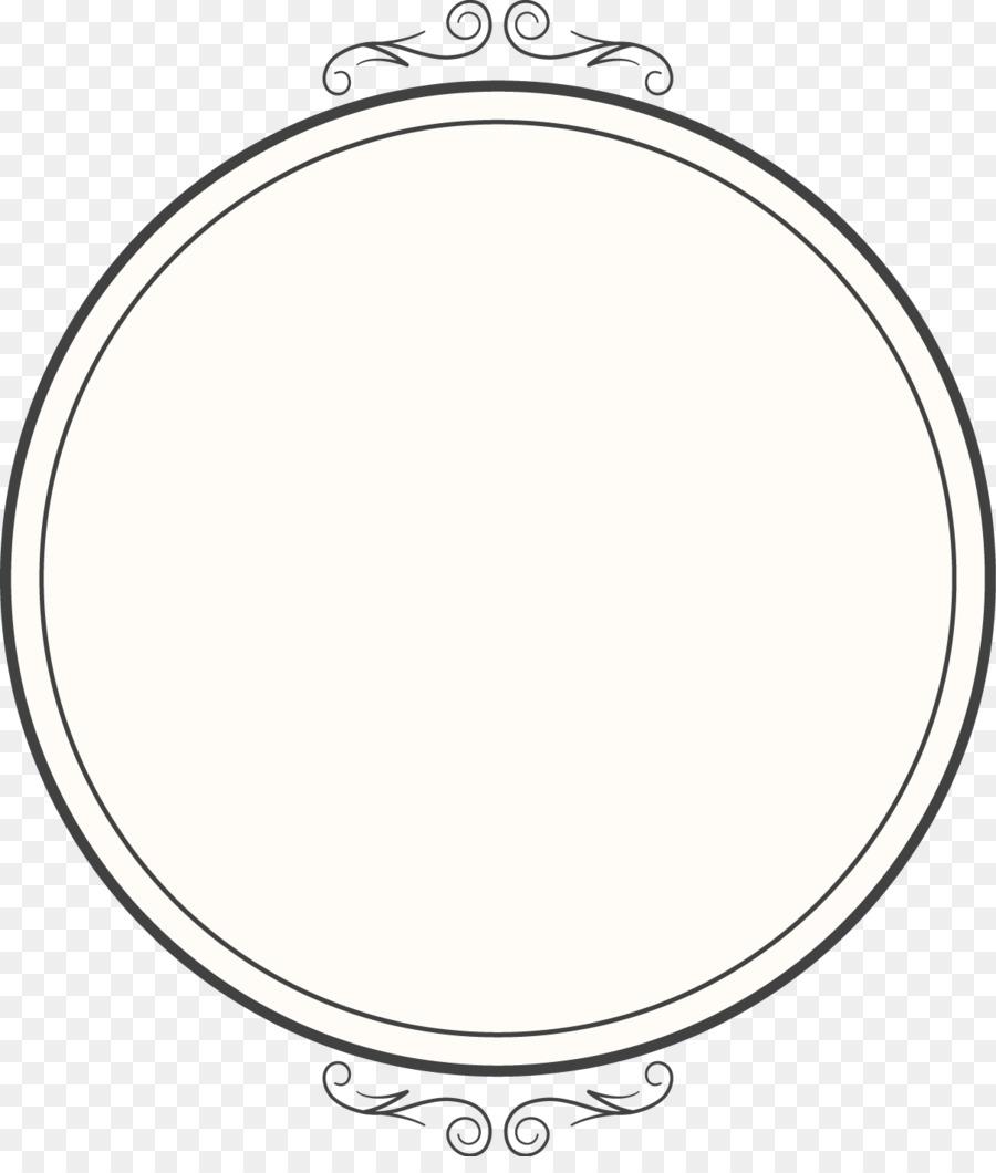 Wire-frame model Download - Vector creative design round mirror ...