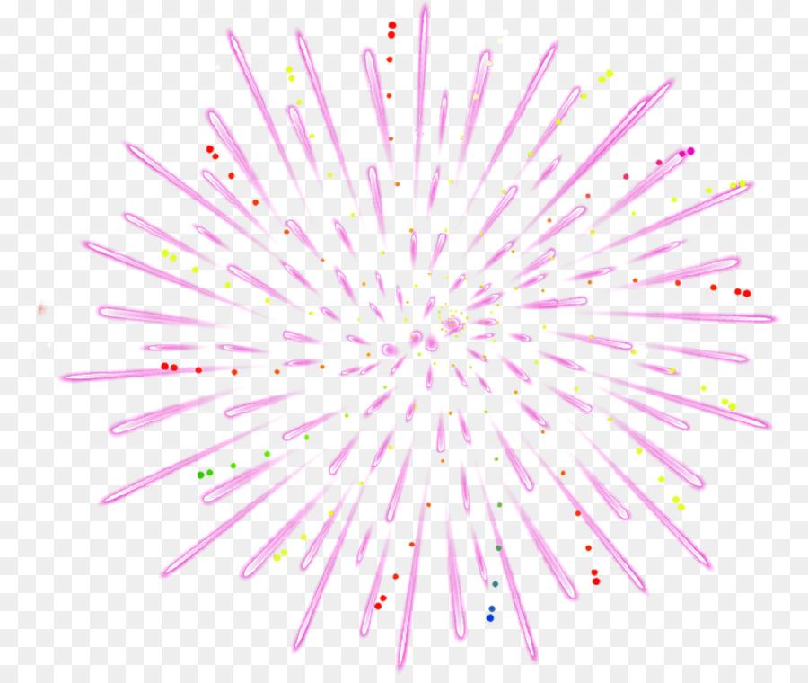 Fuegos Artificiales De Color Rosa Rosa Fuegos Pirotecnicos