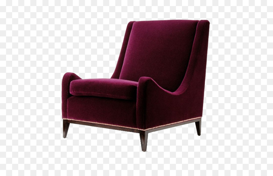 Eames Lounge Chair Couch Furniture Living room - High-end wine red sofa chair & Eames Lounge Chair Couch Furniture Living room - High-end wine red ...