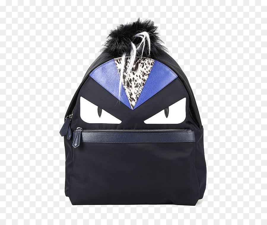 a59ba7a0324f Backpack Bag Fendi Fashion Leather - Fendi fight nylon black nylon shoulder  bag small monster png download - 750 750 - Free Transparent Backpack png ...