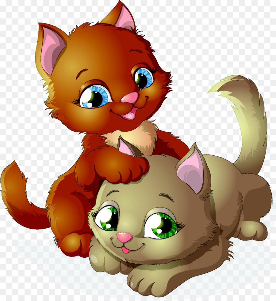 Kucing Sphynx Kucing Anjing Kelucuan Kartun Bayi Lucu Unduh Seni