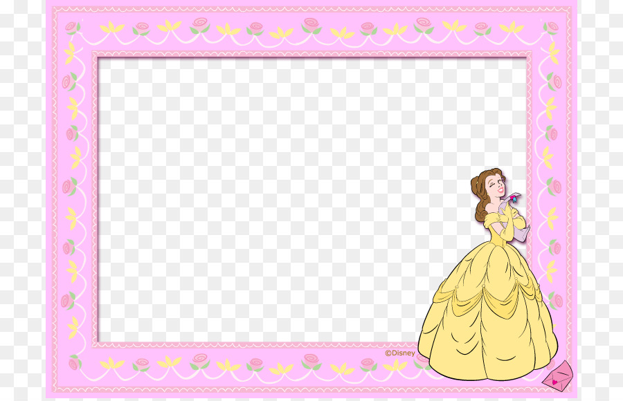 Picture frame Pattern - Lovely princess pink frame template png ...