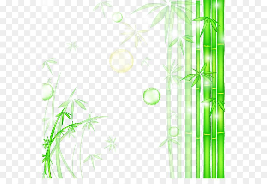 Bamboo Graphic Design Wallpaper