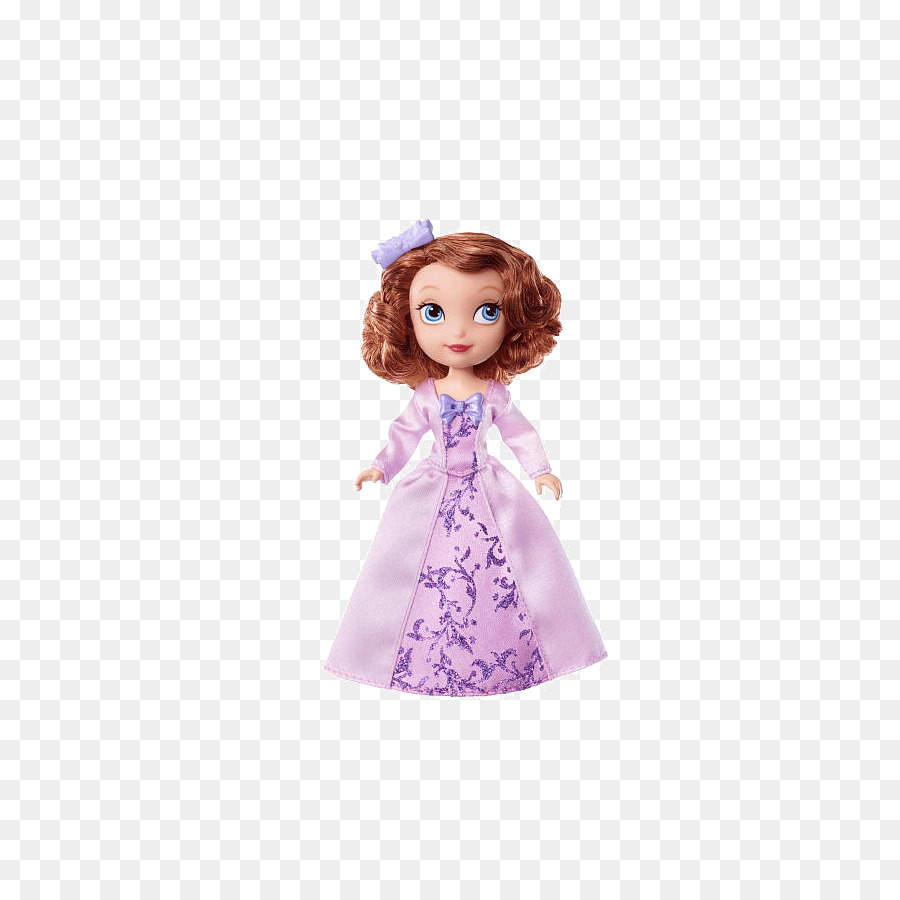 Sofia the First Doll Dress Toy Gown - Purple doll png download - 553 ...