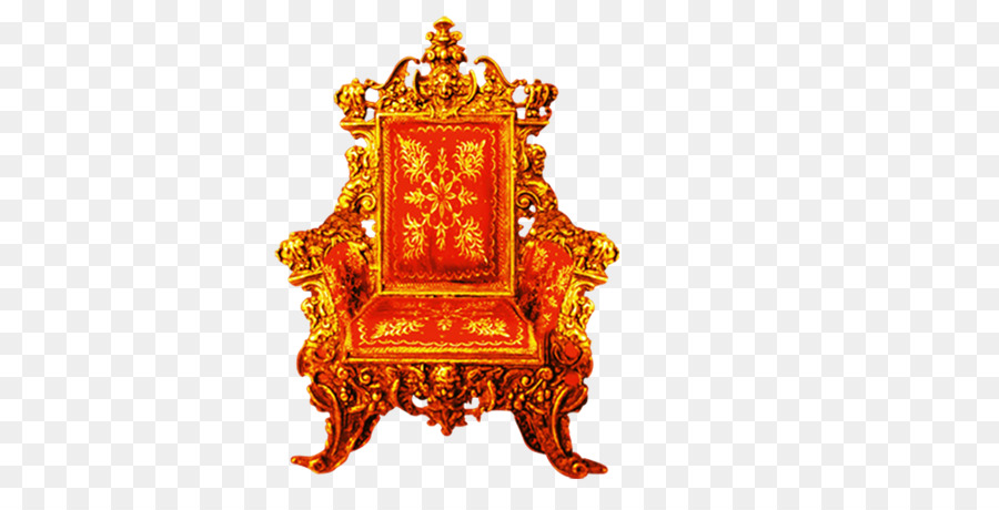 Golden Throne Chair Clip Art   Chair