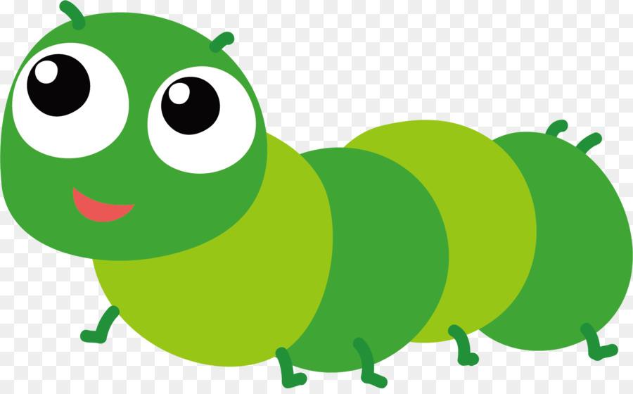 Cartoon Caterpillar Vector Map Of Caterpillars 1601 982