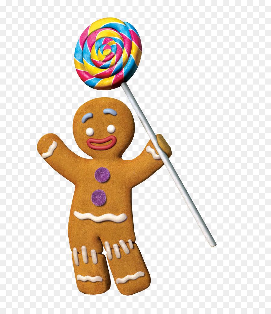 El Hombre De Pan De Jengibre Burro De Shrek El Musical - Gingerbread ...