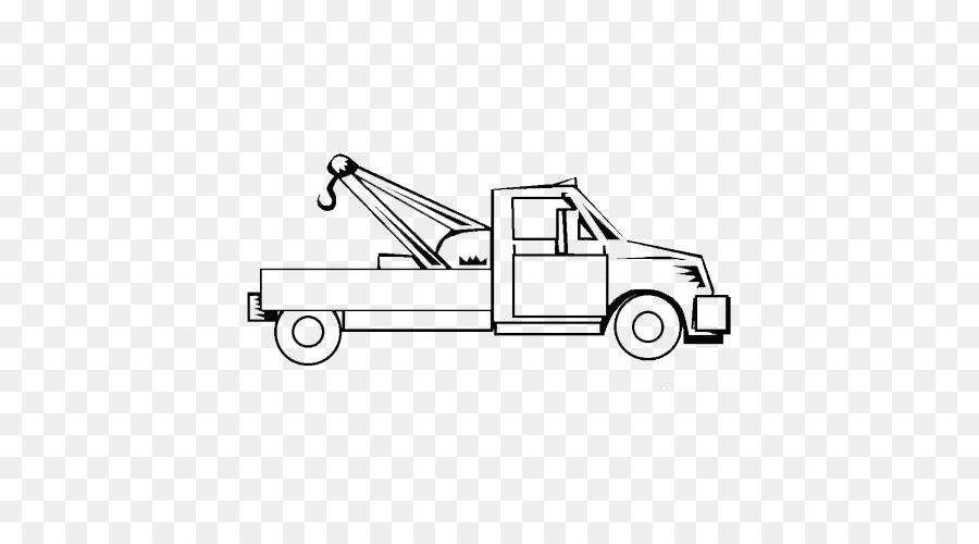 Mater Automóvil camioneta camión de Remolque para Colorear libro ...