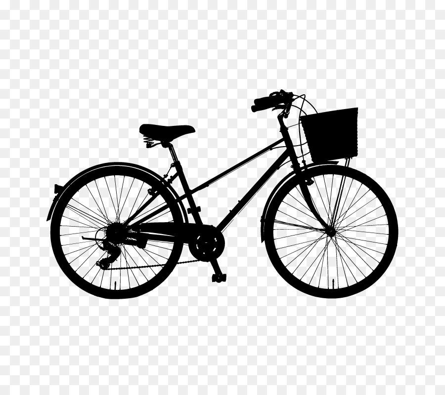 Bicicleta de Ciclismo Silueta Clip art - Vector de la bicicleta ...