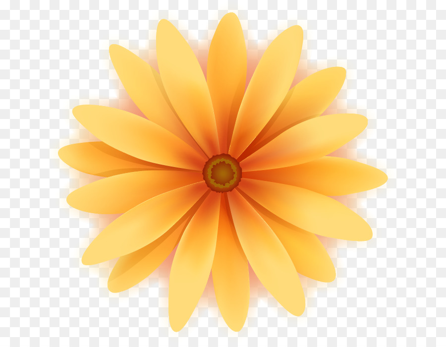 Yellow Cartoon Flower Drawing Cartoon Sunflower Yellow Flowers Png