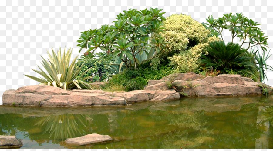 Landscape Rock Garden Computer File