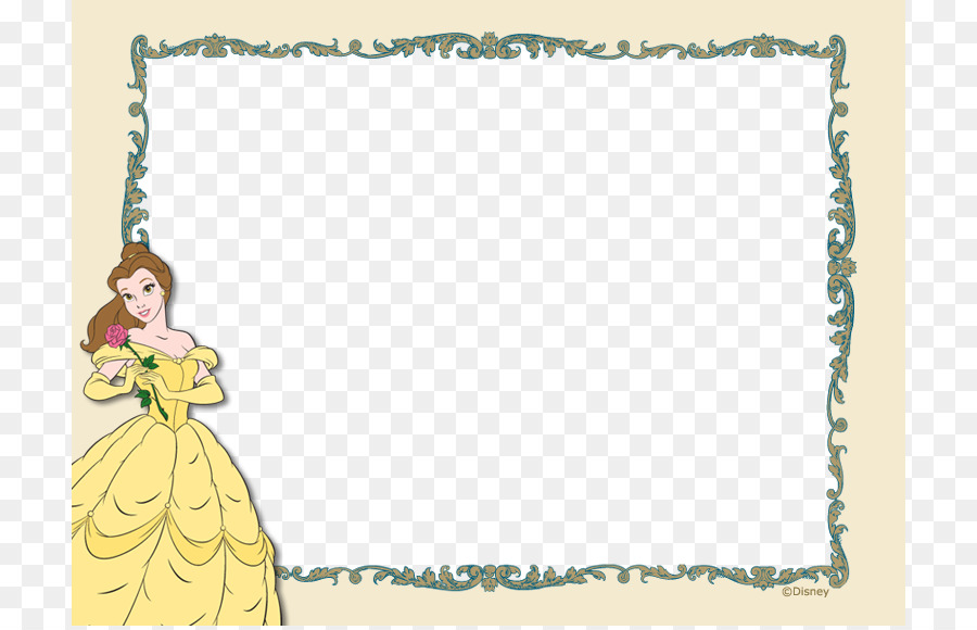 Template Child Photography - Princess Frame template material png ...