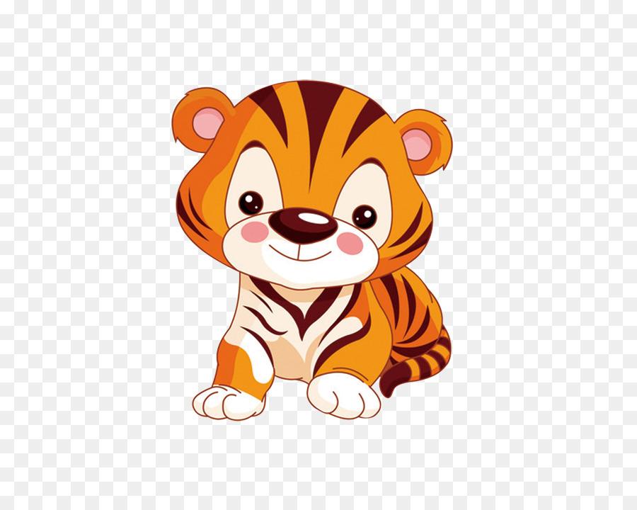 Tiger Animation Child Animal