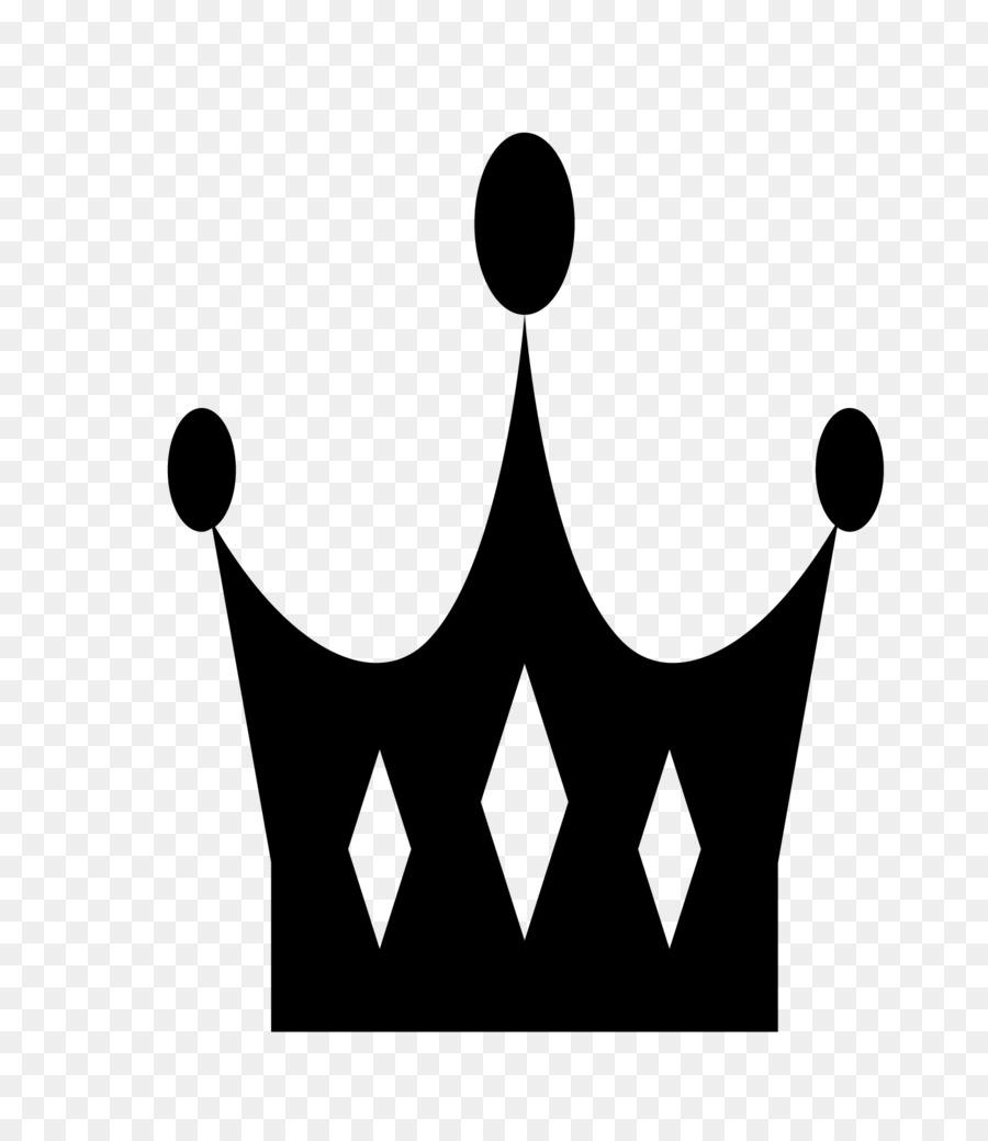 Logo Black And White Pattern Cartoon Black And White Crown Logo