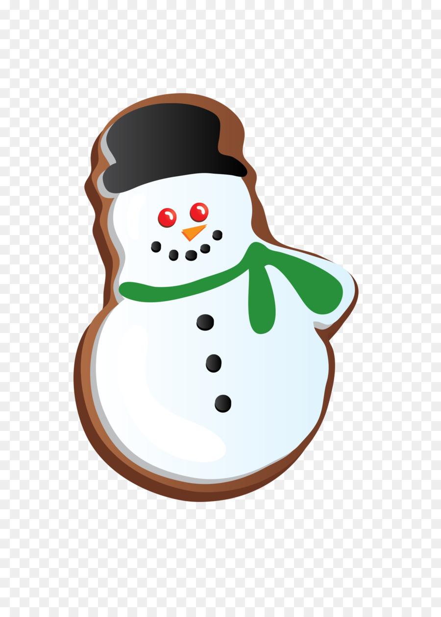 Christmas cookie Christmas cookie-Keks-clipart - Schneemann Cookies ...