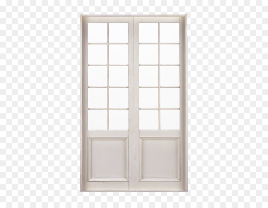 Window Furniture Door Building White Checkered Double Doors Png