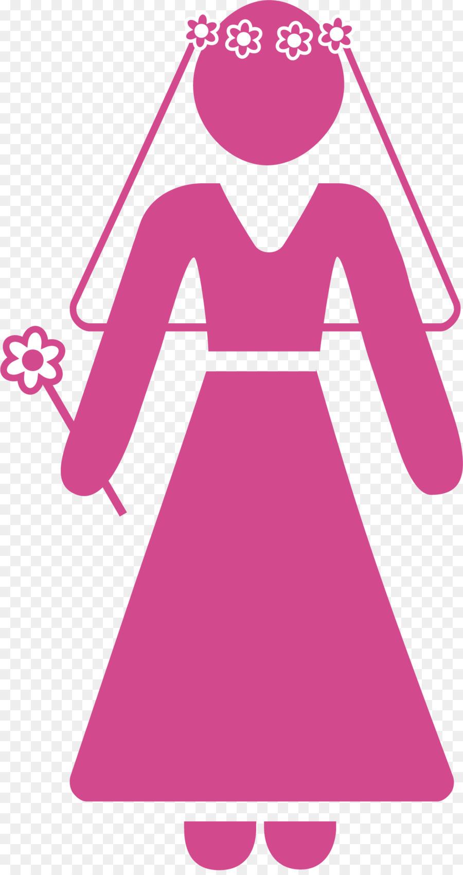 Invitación de la boda el Matrimonio de la Novia - Púrpura vestido de ...