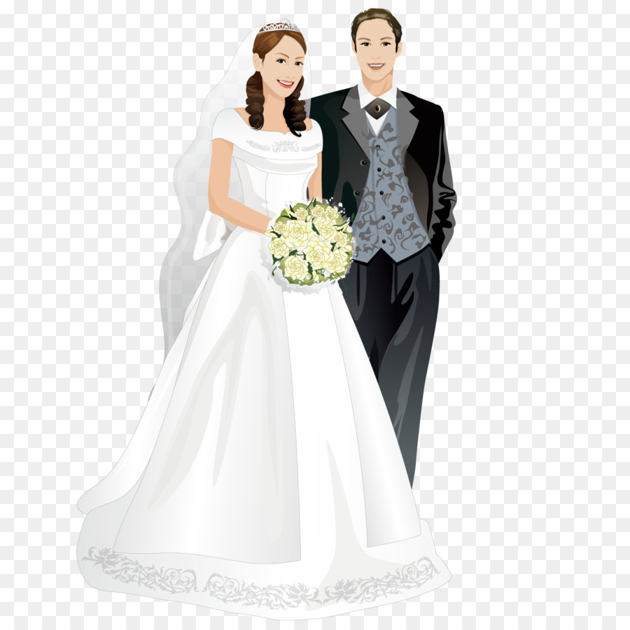 El matrimonio de la Novia de la Boda del marco de la Imagen - Linda ...