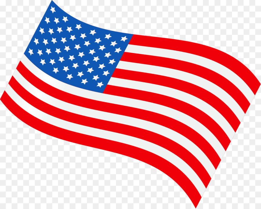 Bandera De Los Estados Unidos Ilustración