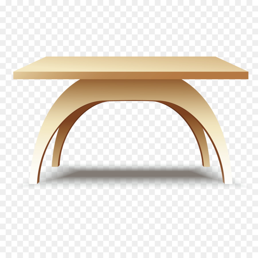 Coffee Table Icon   Wooden Table