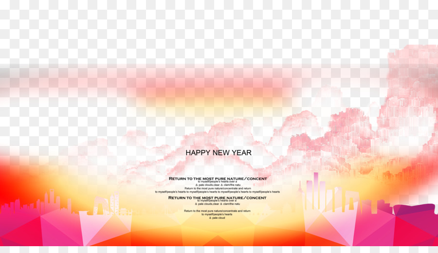Download Poster New Year Gratis - Happy New Year Colorful posters ...
