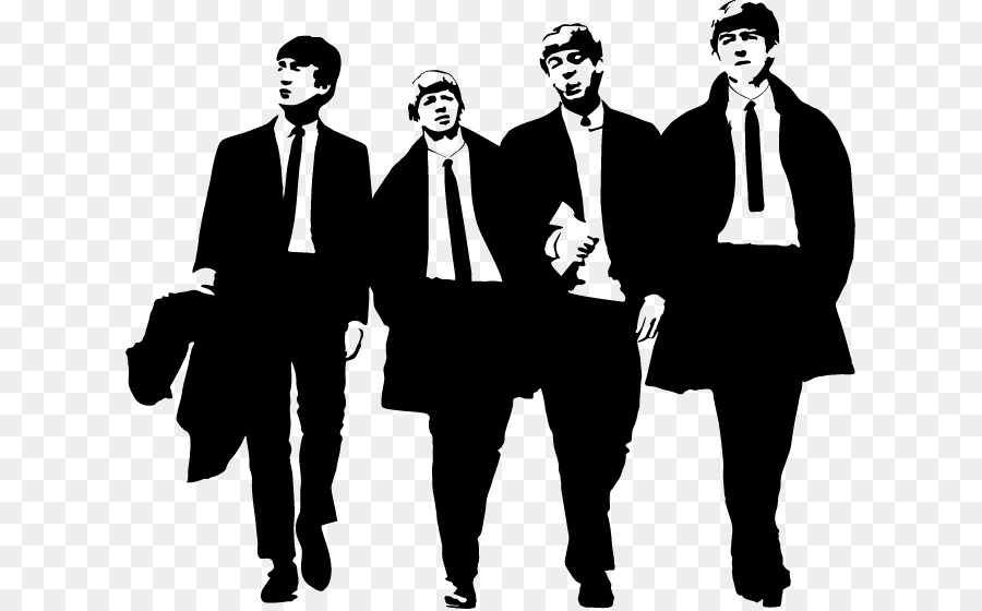 The Beatles Abbey Road Silhouette Clip Art