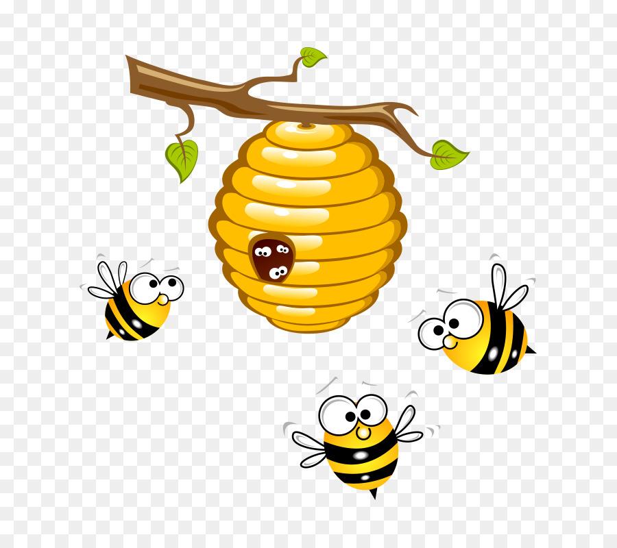 نحلة كرتون gif