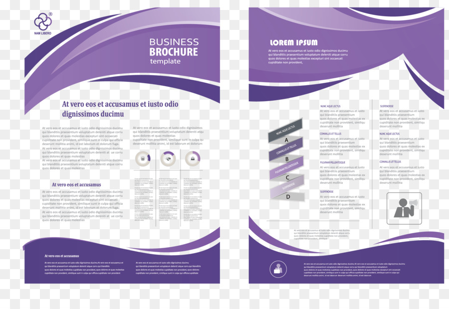 Brochure Flyer Template Fashion Business Single Page Png Download