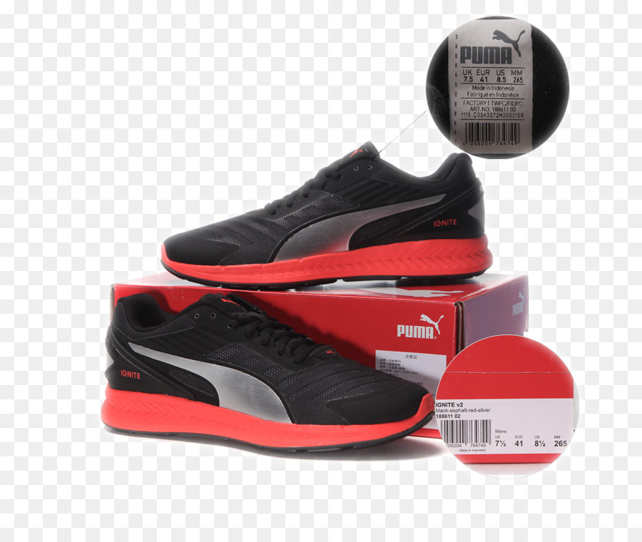 Puma Sneakers Skate shoe Adidas - Puma PUMA running shoes png download -  750 744 - Free Transparent Puma png Download. effc9baa7
