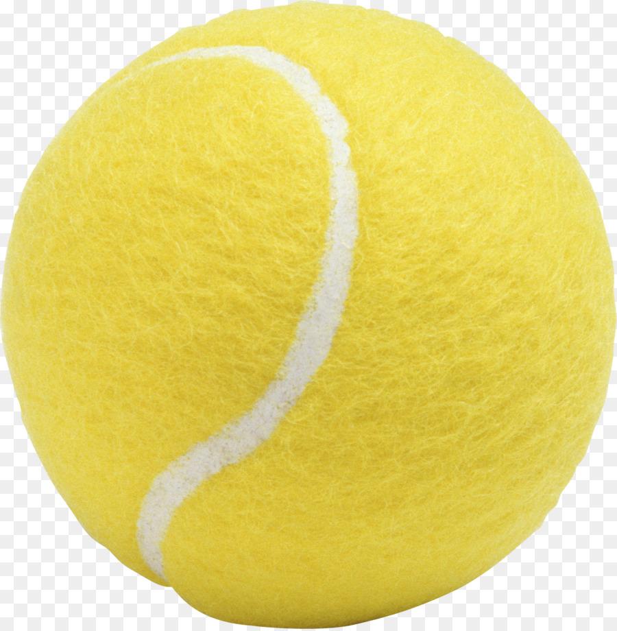 Kuning Bola Tenis Clip Art Tanpa Bahan Anyaman Tennis