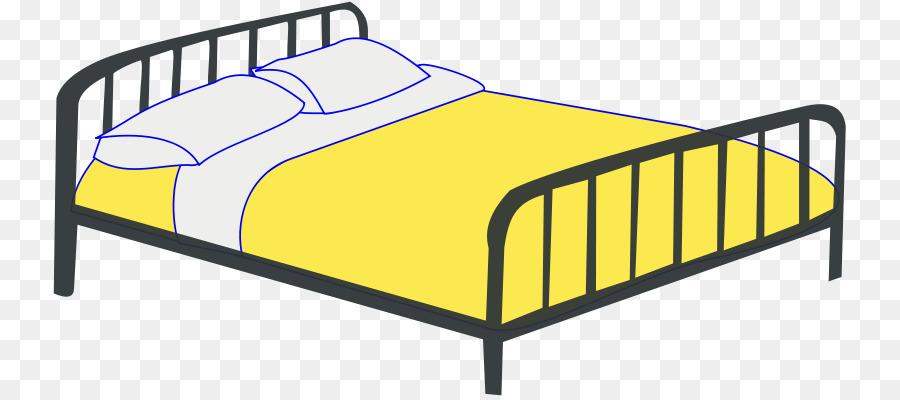 Hacer la cama Clip art - Negro de cama Formatos De Archivo De Imagen ...