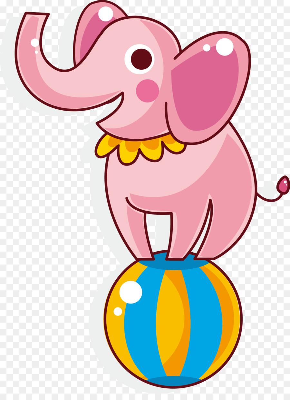 Circo para Colorear libro Payaso de Carnaval Infantil - Elefante ...