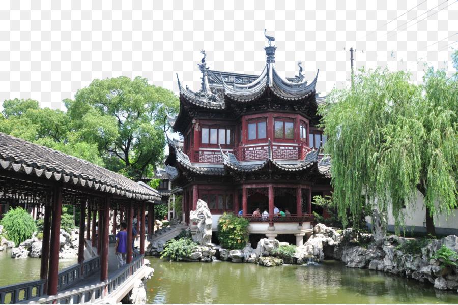 Yu Garden City God Temple of Shanghai Zhujiajiao Nanjing Road ...