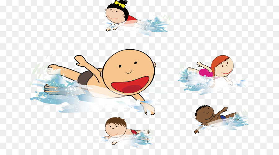 beach wind wave swimming clip art children swimming in the sea rh kisspng com Waves Clip Art Black and White Simple Wave Clip Art