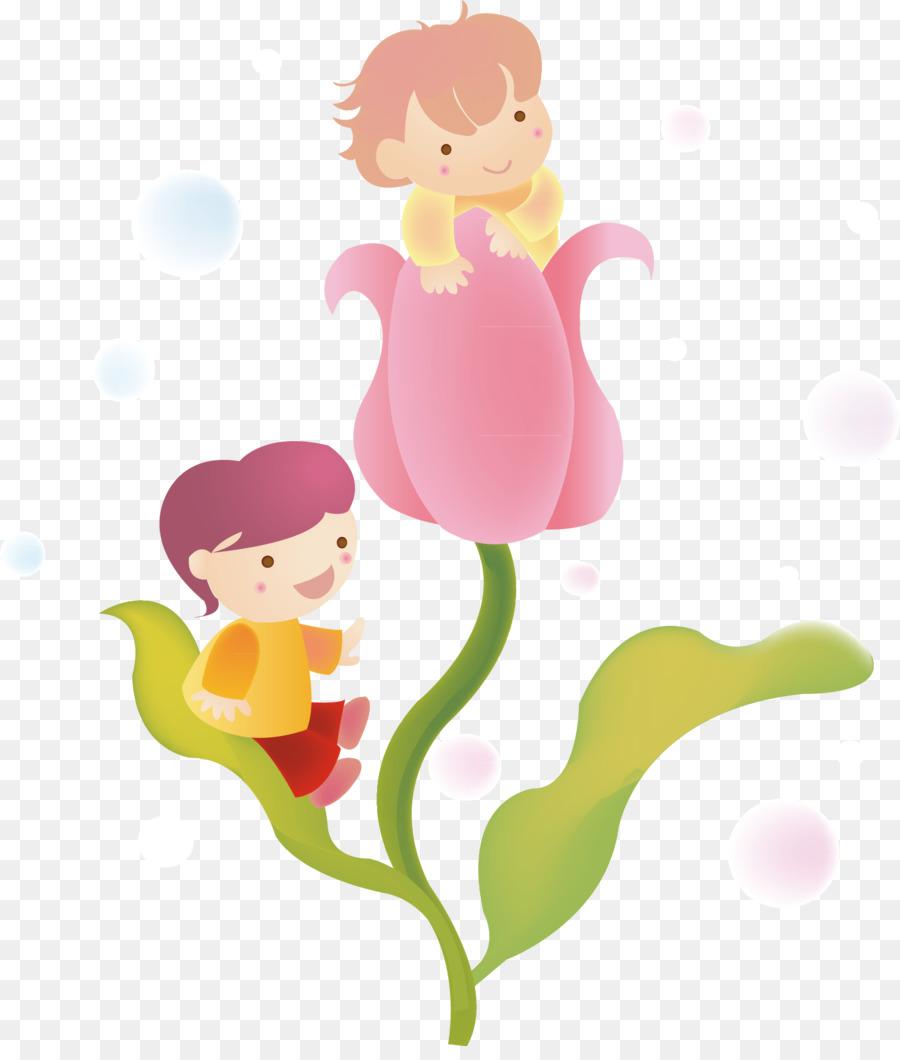 Cartoon illustration beautiful flower fairy png download 1470 cartoon illustration beautiful flower fairy izmirmasajfo