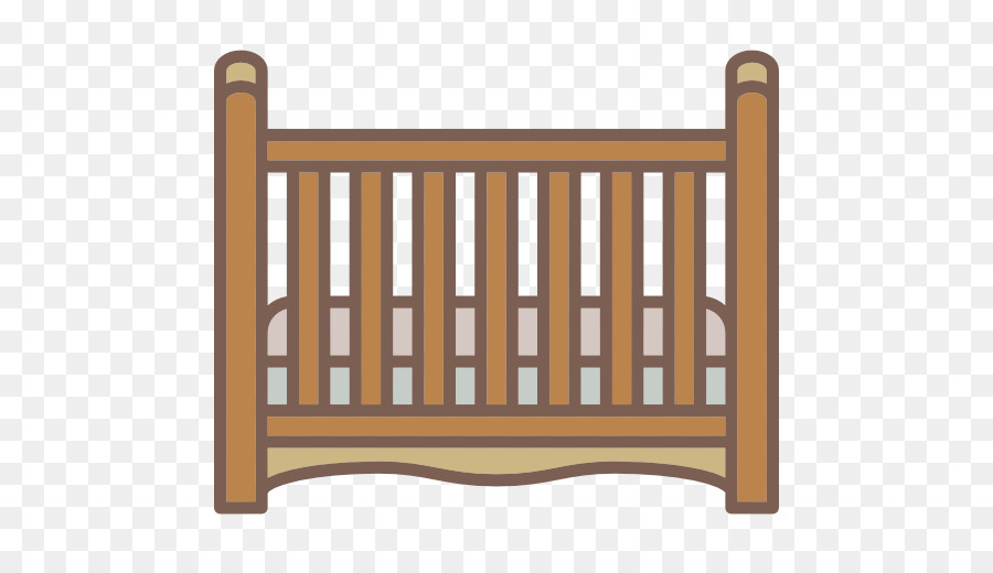 Cama para bebé Scalable Vector Graphics Muebles - Una cama de madera ...