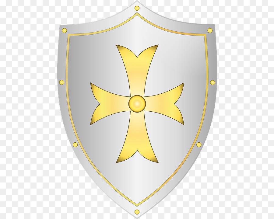Knight Shield Sword Clip Art Cartoon Shield Png Download 528720