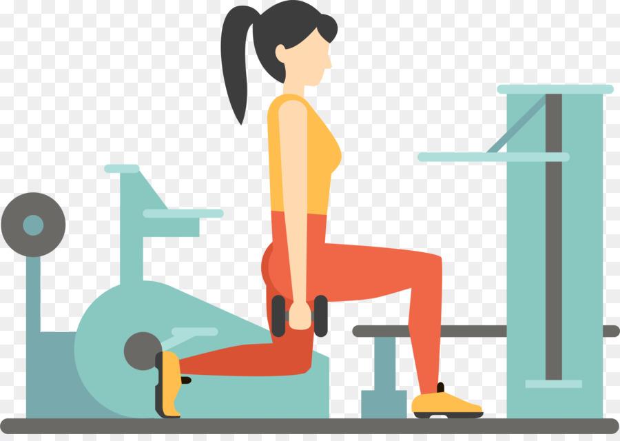 Fitness Centre Euclidean Vector Weight Training