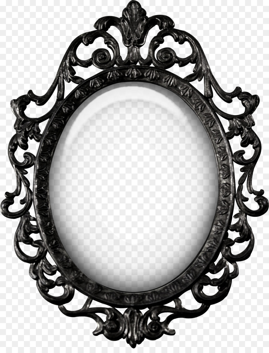 Snow White Mirror Photography Creative Black Pattern Mirrors