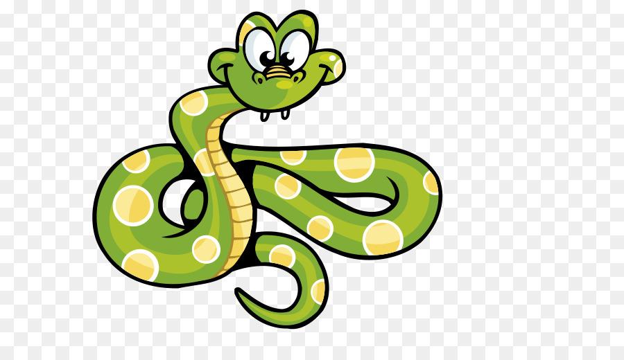 Snake Computer file - Cartoon snakes Green Spot
