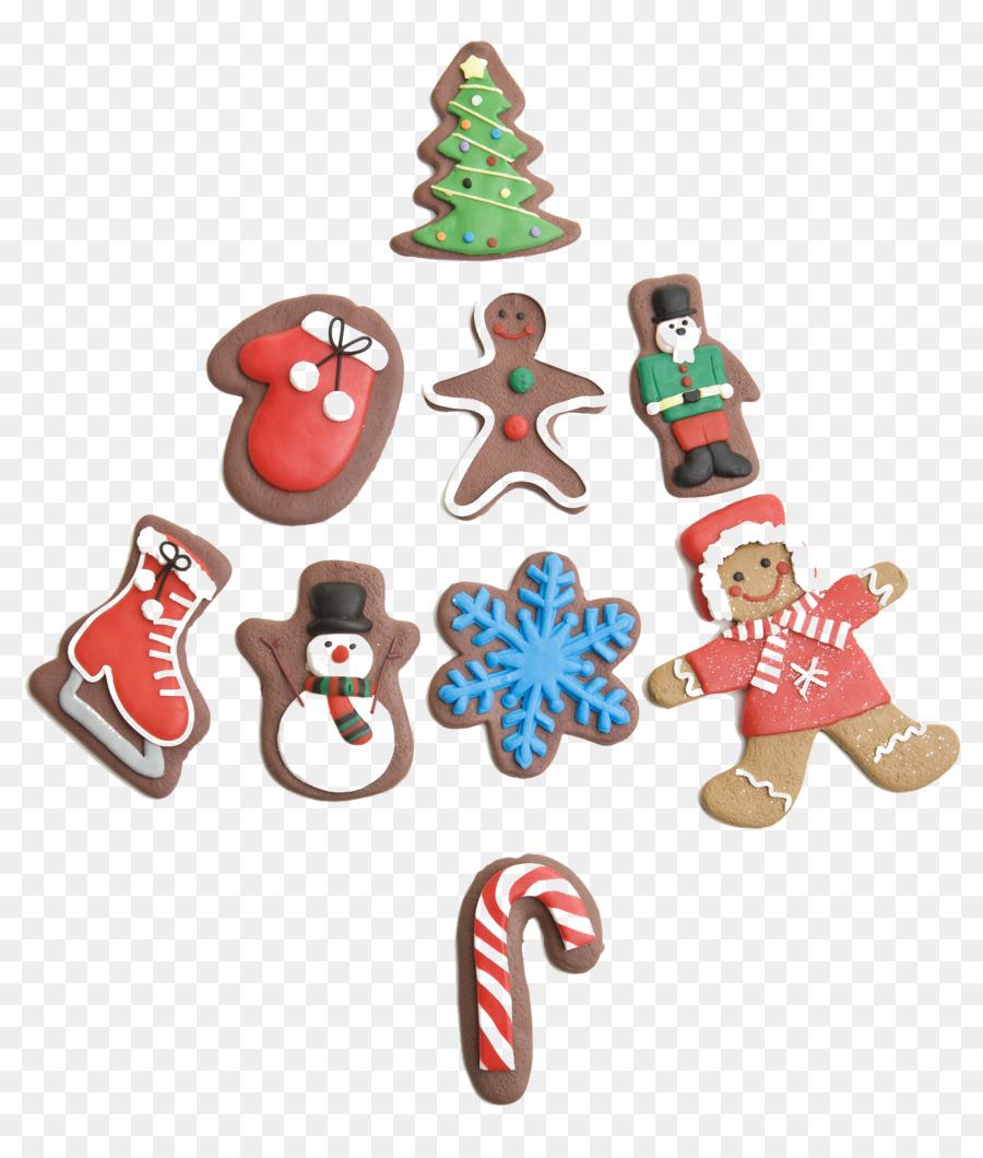 Santa Claus Christmas ornament Christmas cookie - Cartoon Christmas ...