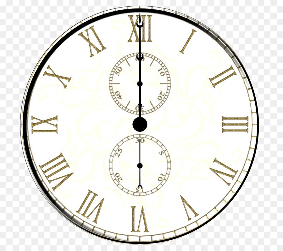 clock face wall decal cuckoo clock alarm clock - retro clock png