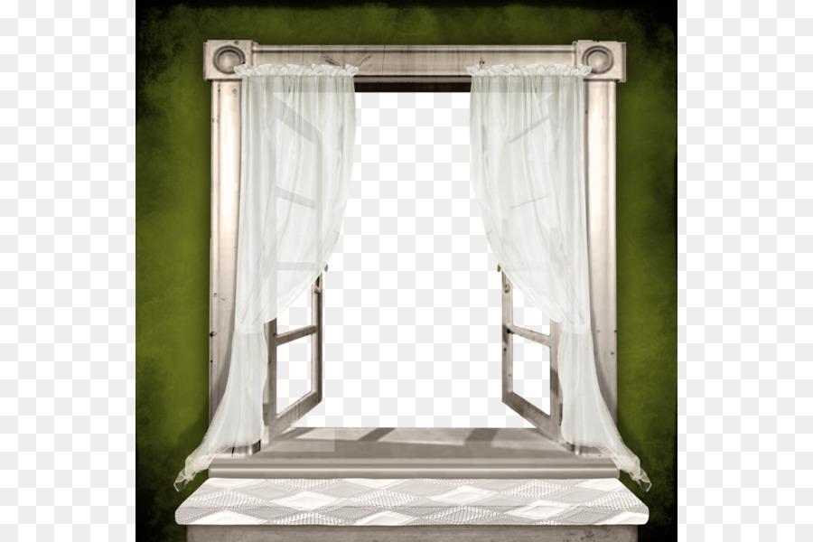Window Picture frame - cartoon design green wall windows png ...