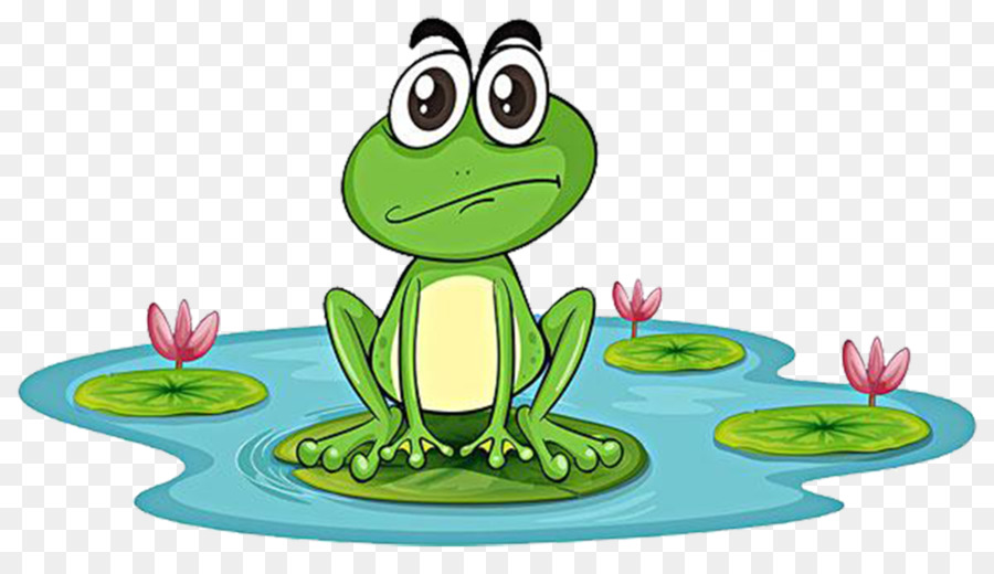 edible frog pond clip art cartoon frogs png download 1026 583