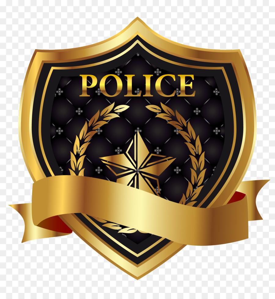 La policía Insignia Euclidiana del vector de Ilustración - La ...