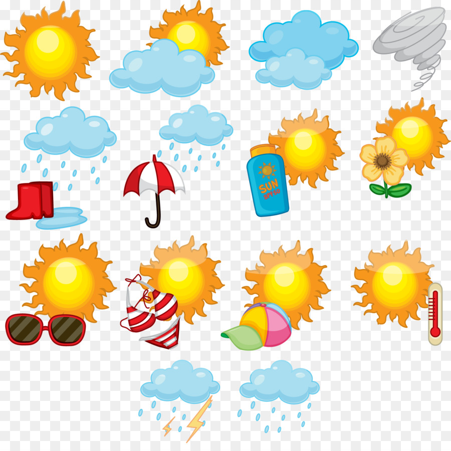 Weather Forecasting Symbol Clip Art Weather Forecast Example Png