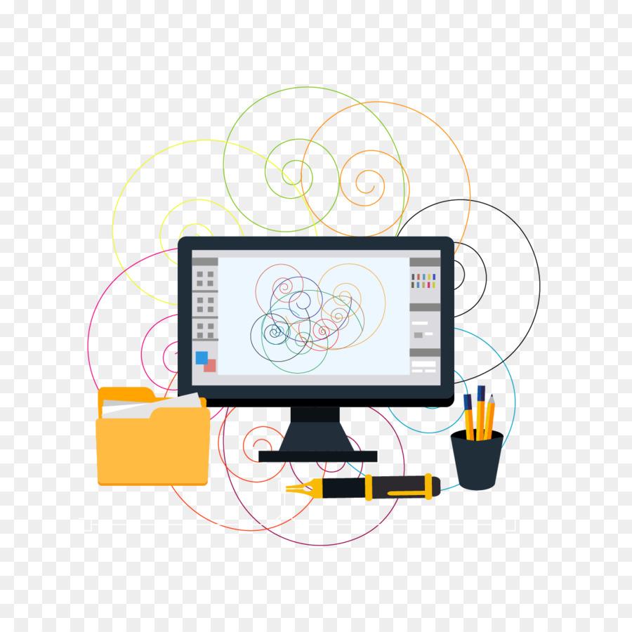 Interior Design Services Graphic Design Designer   Vector Computers And Pen