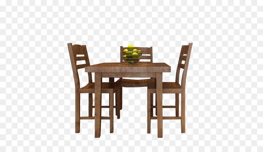 Table Chair Furniture Dining room Kitchen - Tables and chairs png ...