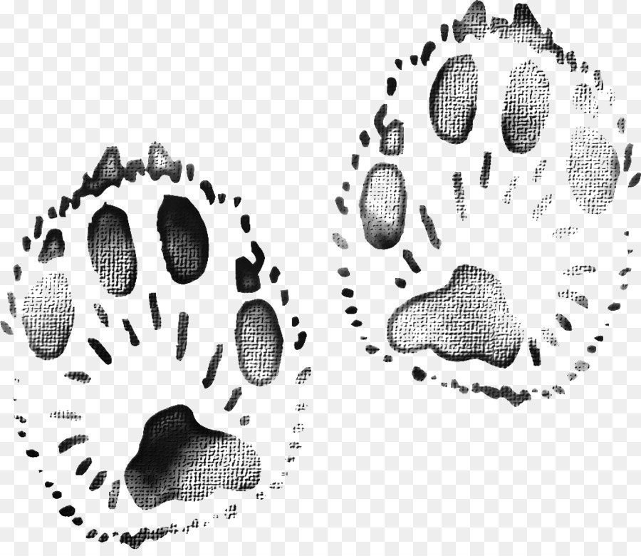 Download Google Images - Black animal footprints png download - 999