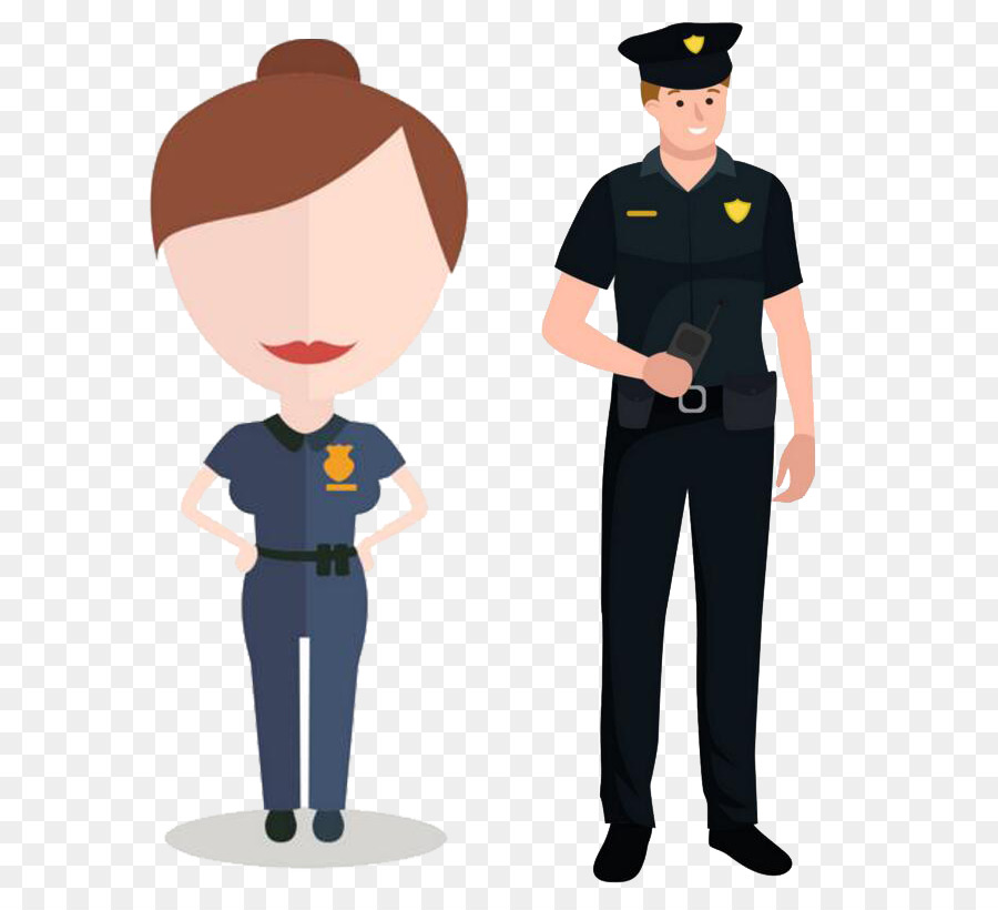 police officer security guard cartoon people creative police png